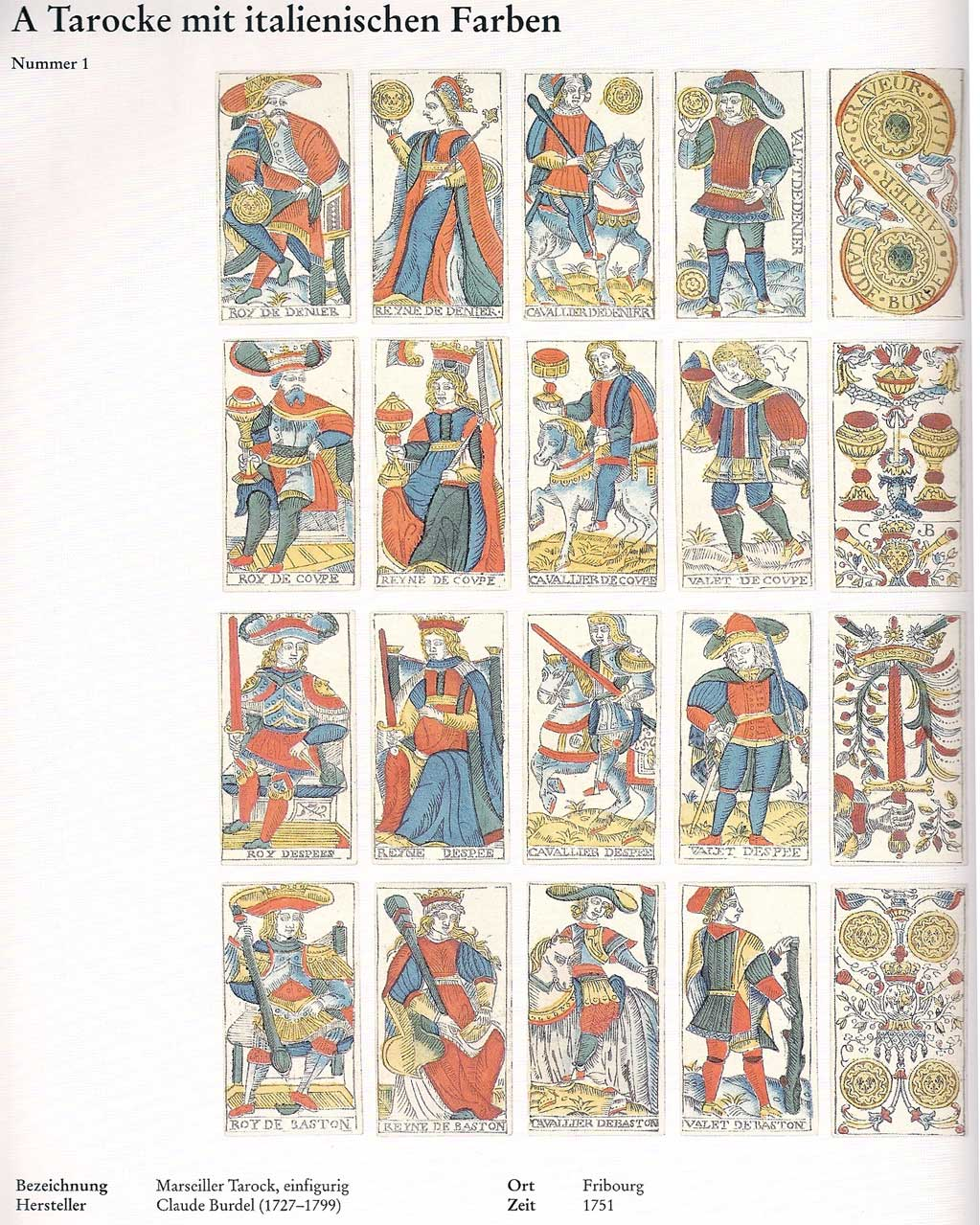Tarot Classic: Why Does Kaplan Say It's By Burdel?